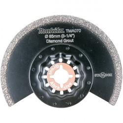 Lame Segment Diamant MAKITA B-65034 Grain 40 Ø 85mm