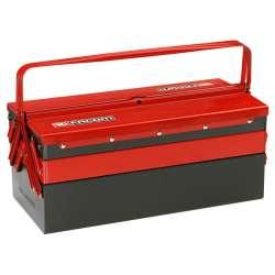 Boîte à outils métalliques 5 cases FACOM BT.11GPB (475 x 220 x 238 mm) - charge utile 25 kg