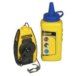 Kit cordeau traceur compact avec poudre STANLEY STHT0-47244 9 m
