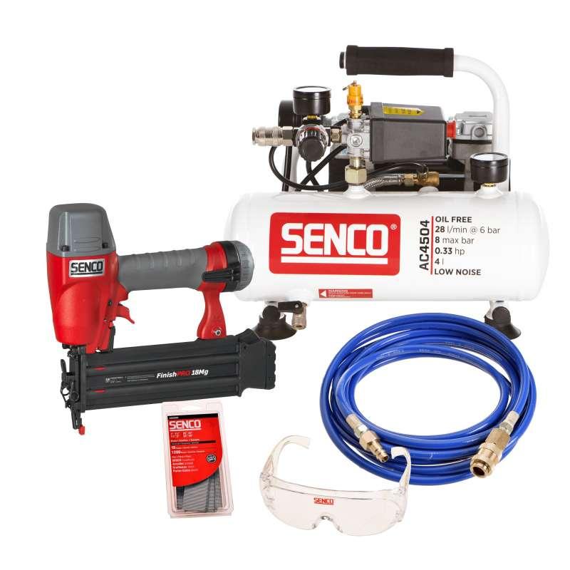 Pack cloueur de finition compresseur et accessoires STARTER KIT SENCO AFN0024KIT
