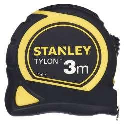 Mètre ruban bimatière tylon STANLEY 1-30-687 3 m x 12,7 mm