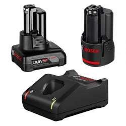 Pack Chargeur et batteries BOSCH Professional 1600A01NC9 12V