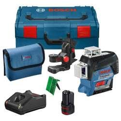 Pack Laser BOSCH GLL 3-80 CG Professional (BM1, Cible et L-Boxx) + Carte Cadeau Décathlon de 40€