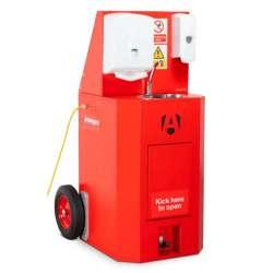 Solution mobile de lavage des mains à l'eau chaude ARMORGARD ScrubKart SBK2TF