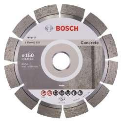 Disque à tronçonner diamanté BOSCH PRO 2608602557 Expert for Concrete Ø 150mm