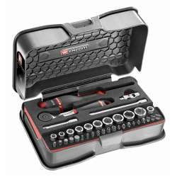 Coffret clés à cliquet + douilles 1/4'' FACOM R.161-6M6PB