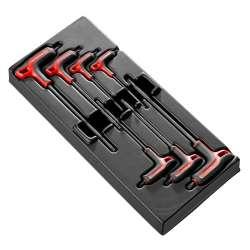 Module de 7 clés mâles en L Torx FACOM MOD.89TXAPB