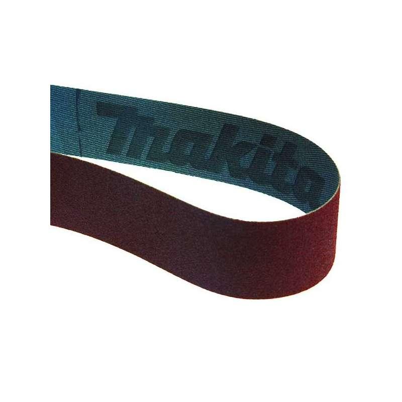 Lot de 5 Bandes abrasives MAKITA 30x533 mm pour bois métal pour Ponceuse à bande MAKITA 9031