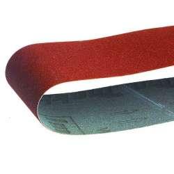 Lot de 5 Bandes abrasives 76x457 mm pour bois métal pour Ponceuse à bande MAKITA 9911