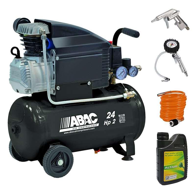 Pack ABAC Compresseur Pole Position B20 Baseline + kit 3 pièces + huile