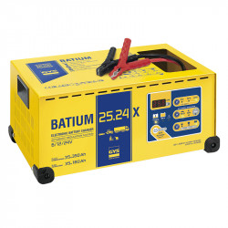 Chargeur de batterie automatique à micro-processeur GYS BATIUM 25.24X (6V-12V-24V)