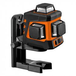 Laser lignes 3D NEO TOOLS 75-108 20m 360° avec étuis et support magnétique
