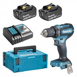 Perceuse visseuse MAKITA DDF485RFJ 18V Li-Ion Ø 13mm (2x3Ah)