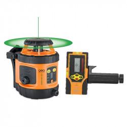 Niveau laser rotatif automatique GEO FENNEL FLG 190A-GREEN + FRG45 - 292195