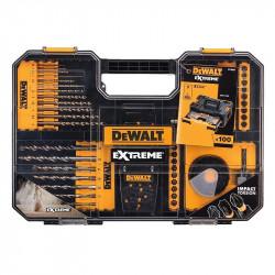 Coffret d'Accessoires Vissage Perçage DEWALT DT70620T Extreme Drill Impact (100 pièces)