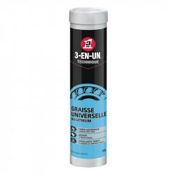 Cartouche de Graisse universelle au Lithium WD-40 33094 3 en 1 technique 400 g