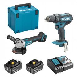 Pack 2 outils MAKITA (DDF482 +DGA504) 2 x 5,0 Ah