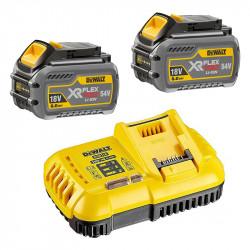 Pack DEWALT DCB118T2-QW Chargeur DCB118 + 2 Batteries DCB546 6,0 Ah
