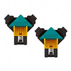 Pack de 2 presses d'angle rapides WOLFCRAFT 3051000 ES 22