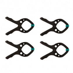 Pack de 4 pinces à ressort microfix WOLFCRAFT 3432000 30 mm