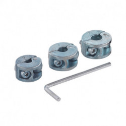 Pack de 3 butées de profondeur WOLFCRAFT 2755000 Ø6/8/10 mm