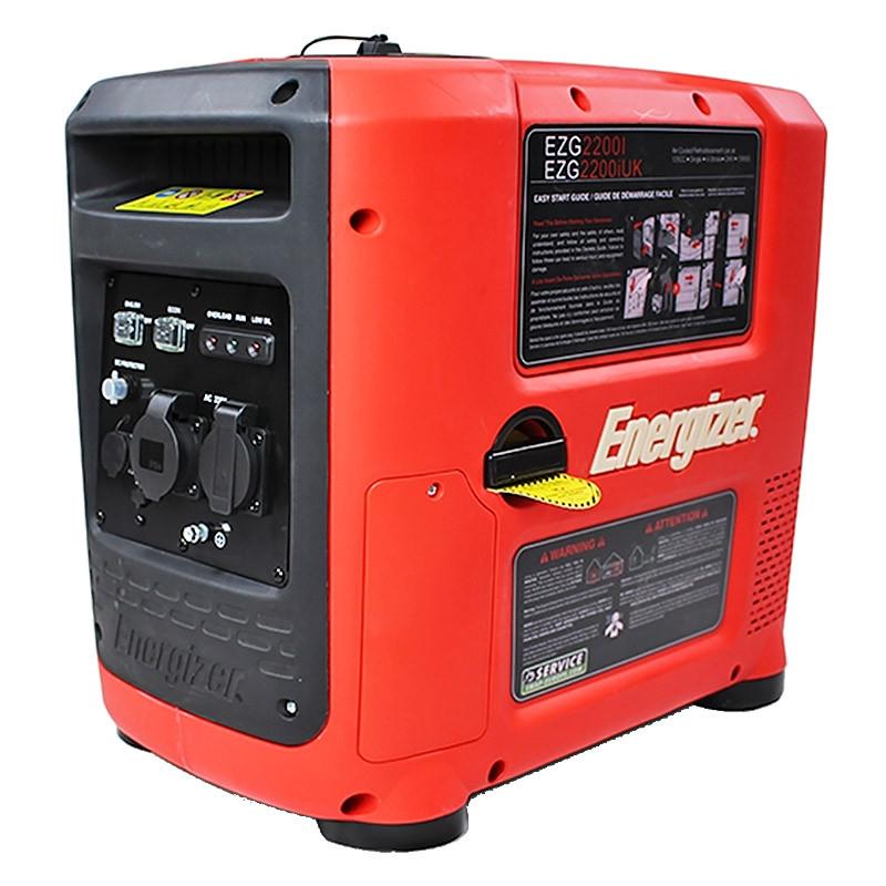 Groupe électrogène ENERGIZER EZG2200I essence Inverter 2200 W 2000 W