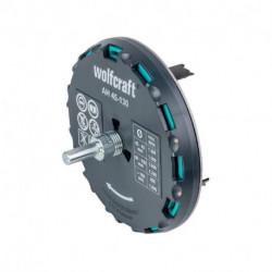 Scie cloche réglable WOLFCRAFT 5978000 Ø45-130 mm