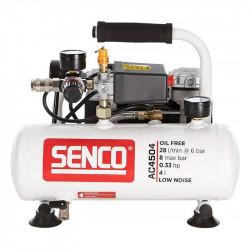 Compresseur sans huile silencieux 4L SENCO AC4504
