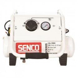Compresseur sans huile silencieux 5L SENCO AC8305