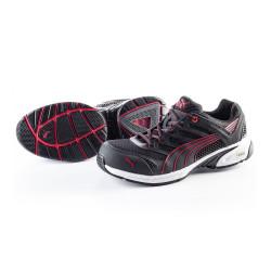 Chaussures de Sécurité Basse PUMA Motion Protect 64.254.0 Fuse Motion Low S1P HRO SRA Noir / Rouge