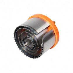 Scie cloche multi-lames pro WOLFCRAFT 2220000 Ø28 à 75 mm