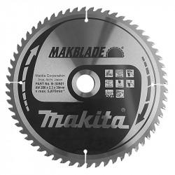 Lame de Scie MAKITA B-32801 MakBlade 260 mm x 30 mm 60 dents