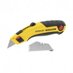 Couteau à lame rétractable + 5 lames STANLEY FATMAX