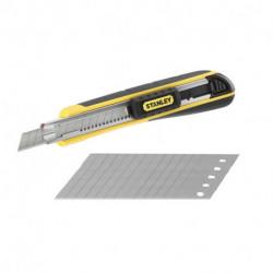 Cutter à cartouche STANLEY FATMAX - 9 mm