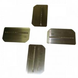 Set Pales de Finition DIAM T060-100 (4 pièces) pour Truelle mécanique HC60
