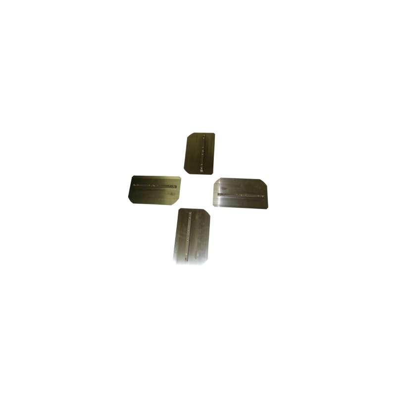Set pales de finition DIAM T120-100 (4 pièces) pour Truelle mécanique HC120