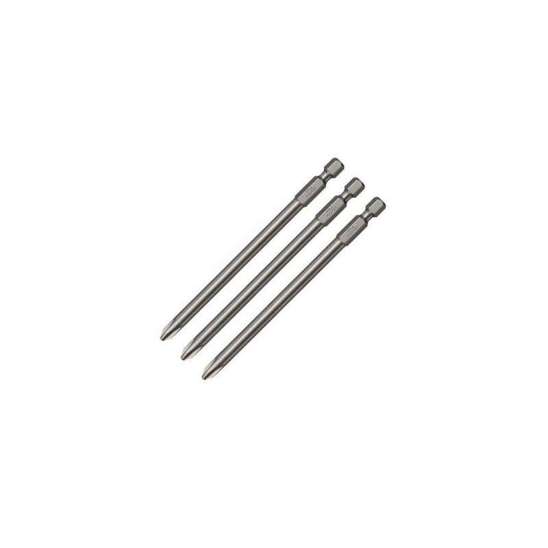 Embouts longs MAKITA P-67795 157 mm PHILLIPS (Ph) Ø 5 mm Hexa 1/4''
