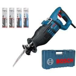 Scie Sabre BOSCH GSA 1300 PCE Professional 1300W + kit de 20 lames