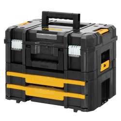 Coffret de transport DEWALT TSTAK combo Box II et Box IV (DWST1-70702)
