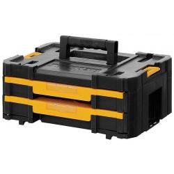 Coffret de Transport DEWALT T-Stak box IV 2 Tiroirs (DWST1-70706)