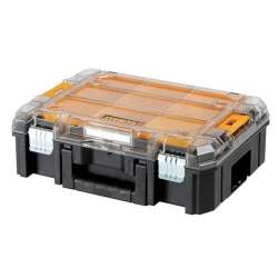 Coffret de transport - Organiseur DEWALT T-STAK box V transparent (DWST1-71794)
