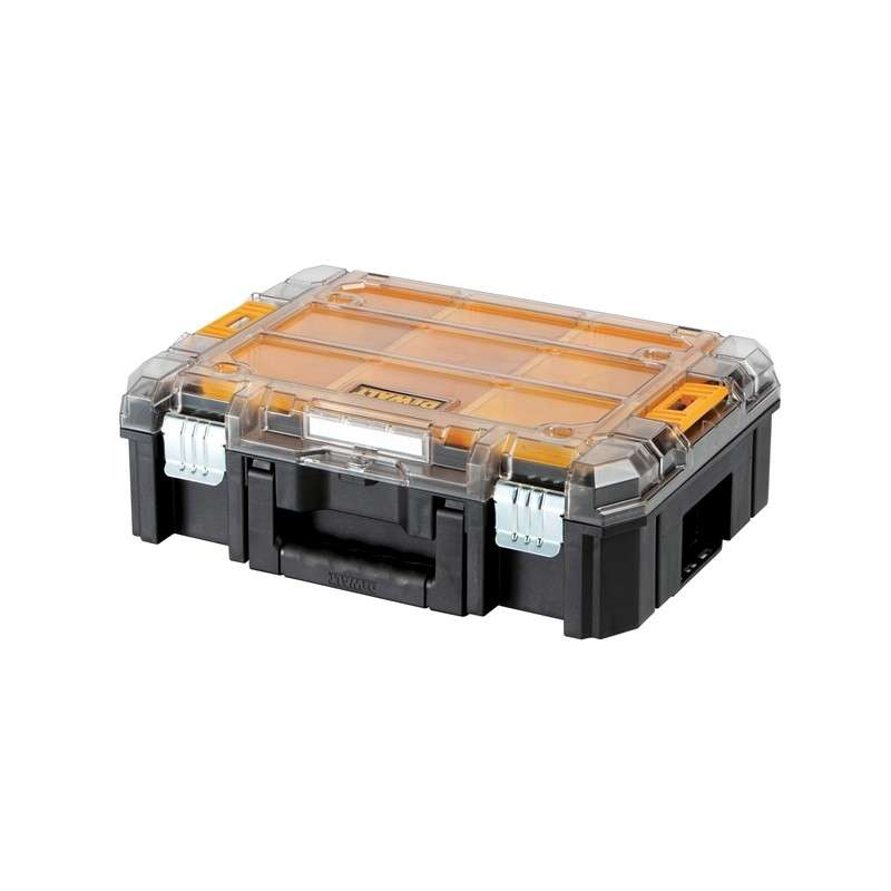 Coffret de transport - Organiseur DEWALT T-STAK box V transparent (DWST1-71794)