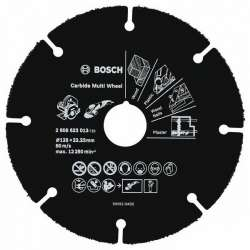 Disque carbure Carbide Multi Wheel 76 mm pour Meuleuse d'angle GWS 10,8-76 V-EC