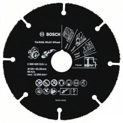 Disque Carbure BOSCH Carbide Multi Wheel 125 mm pour Meuleuse d'angle