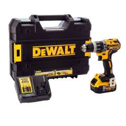Perceuse visseuse à percussion DEWALT DCD796P1 18V XR Brushless (1 x 5,0Ah)