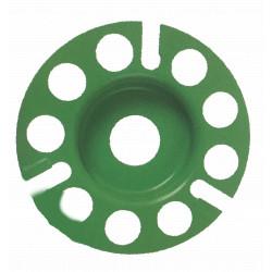 Plateau carbure de tungstène DIAM INDUSTRIES CB-37124 pour la surfaceuse portative EOF100 pour les surfaces bois