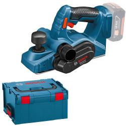 Rabot sans-fil BOSCH GHO 18 V-LI Professional + L-Boxx (machine nue)