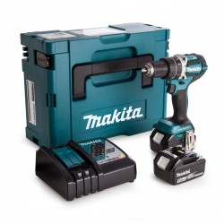 Perceuse visseuse MAKITA DDF484RTJ 18 V Li-Ion (2x5.0Ah) Ø 13 mm