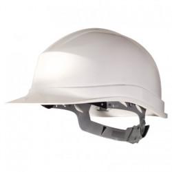 Casque de Chantier DELTAPLUS ZIRC1BC Serrage glissière blanc