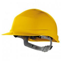 Casque de Chantier DELTAPLUS ZIRC1BC Serrage glissière jaune